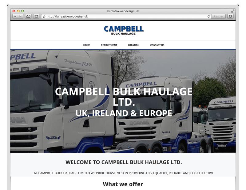 campbells bulk haulage design