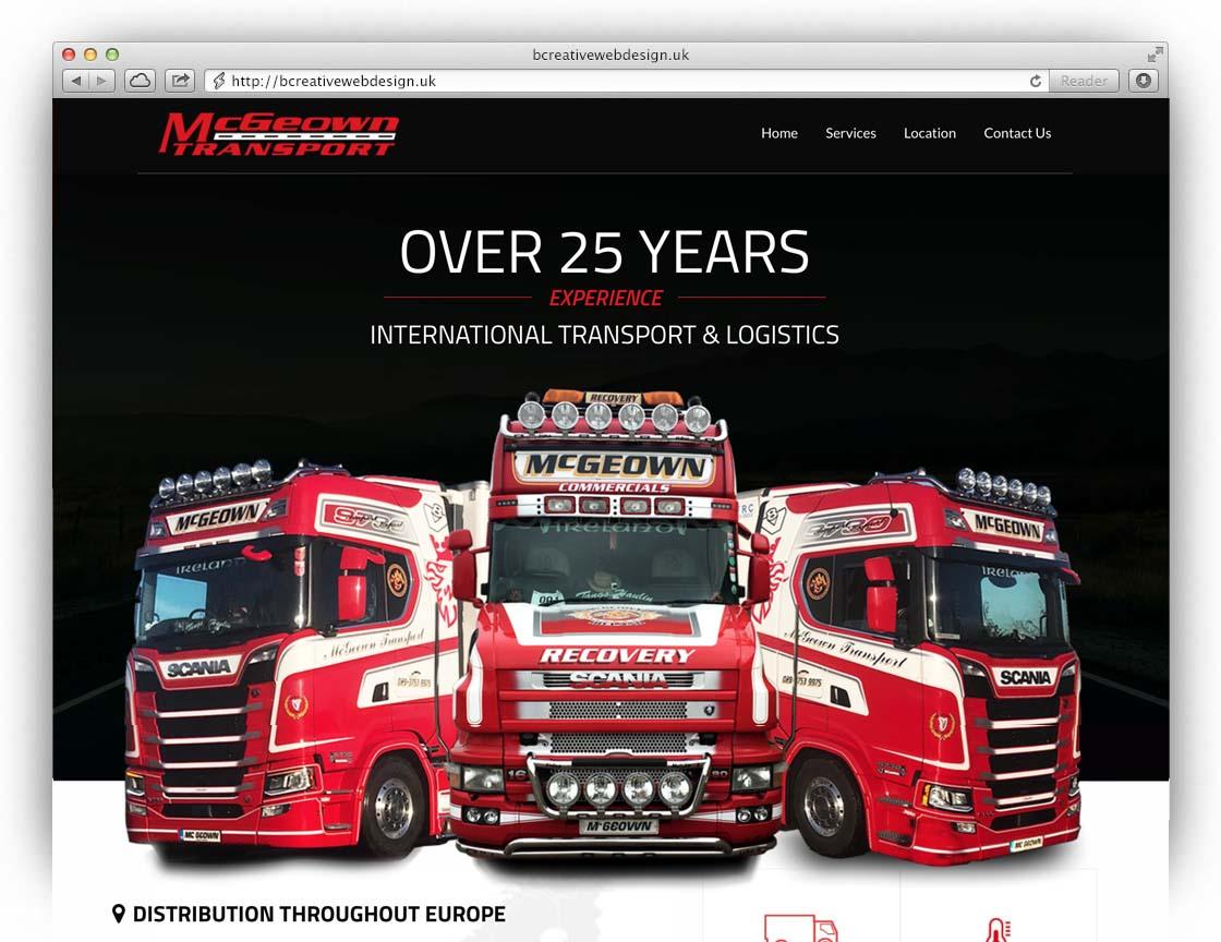 mcgeown haulage